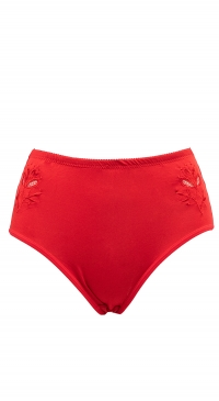 Culotte rouge grande taille